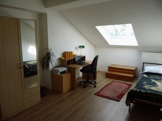 Beispiel eines Zimmers in der WG